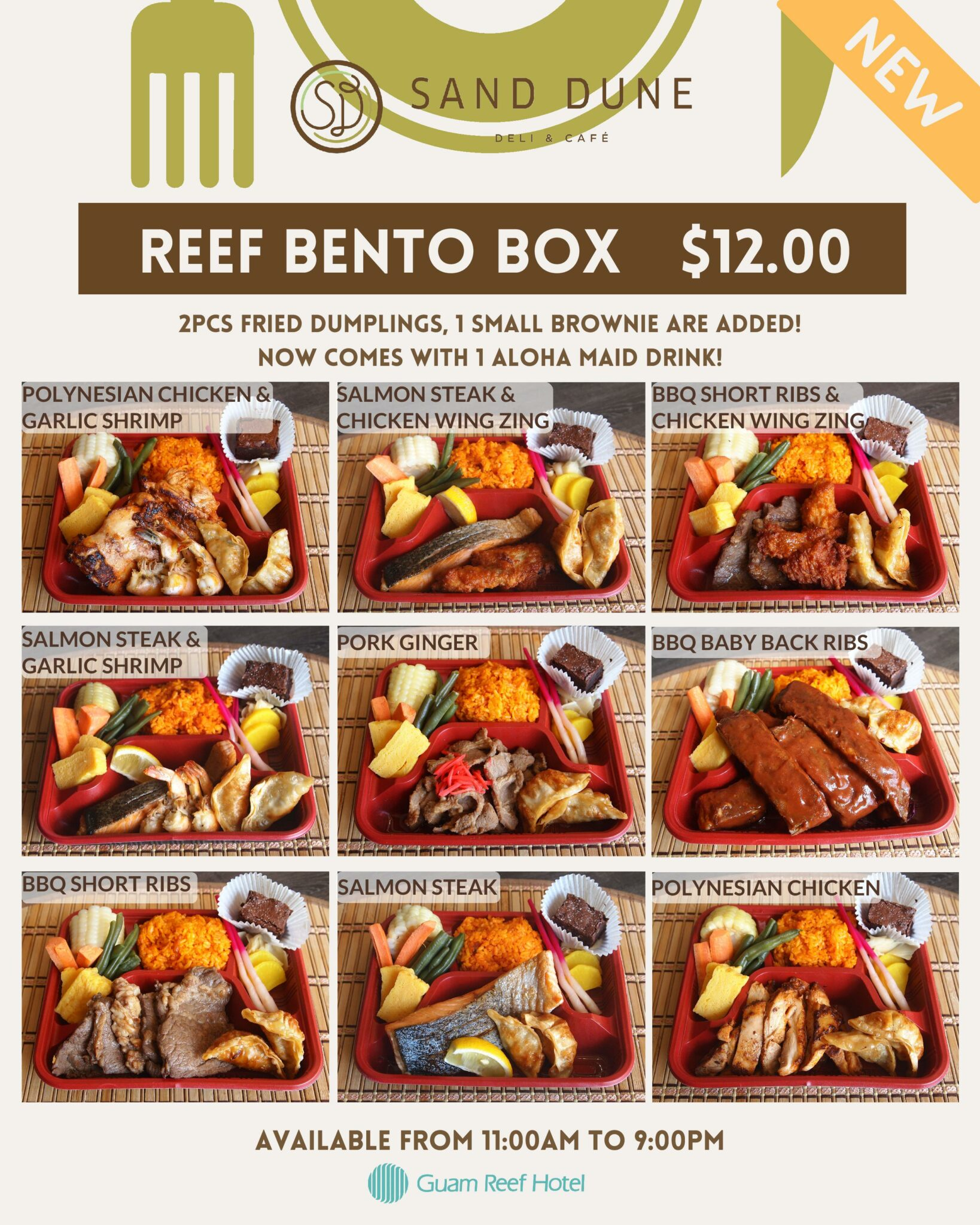 Reef To Go Bento Box