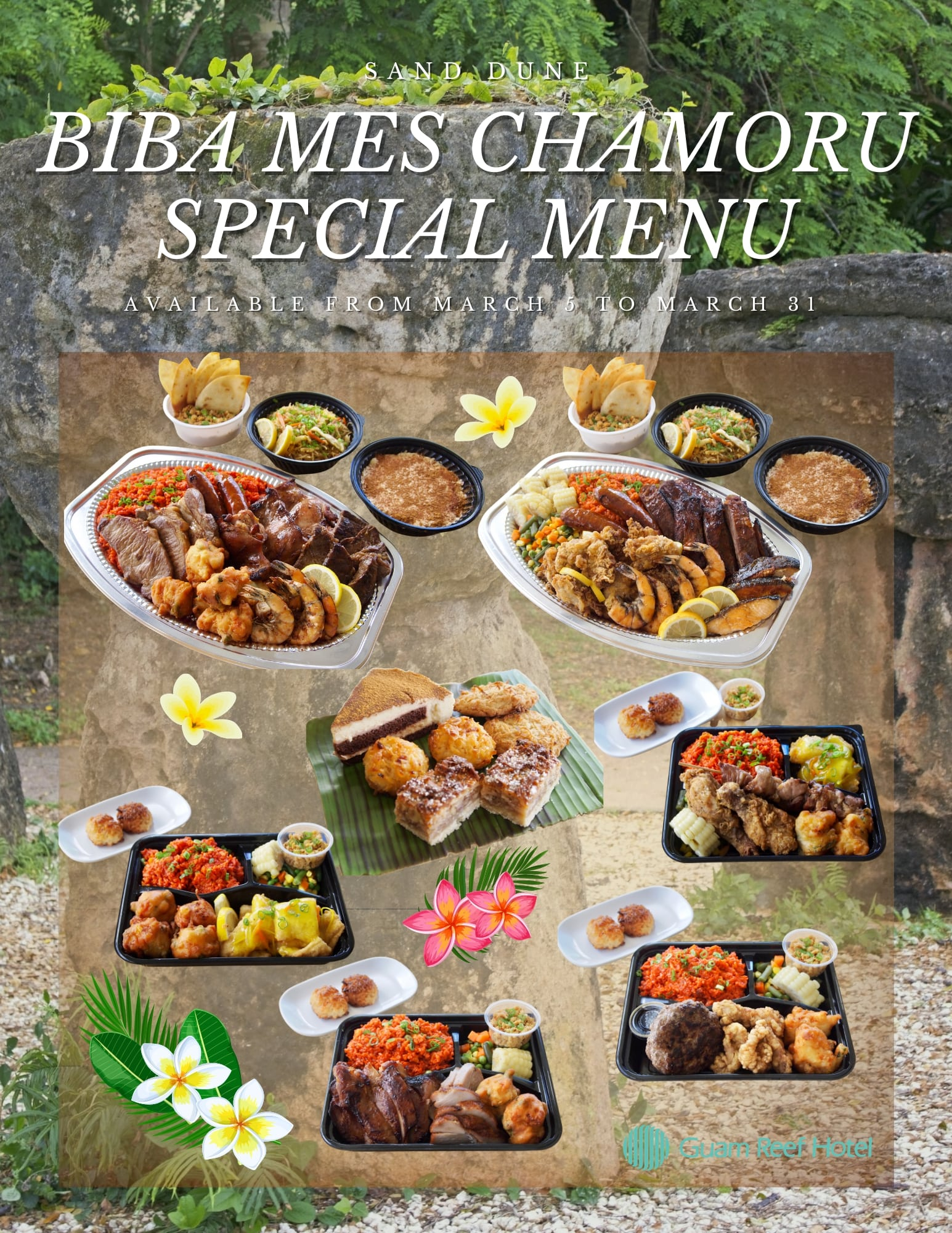 【Sand Dune】Chamorro Month Special Menu
