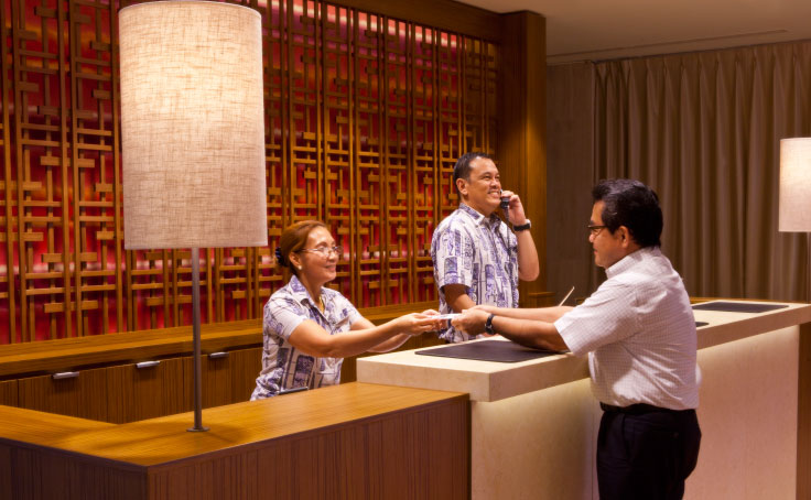 Our Guest Service is here to help you during your stay on Guam
