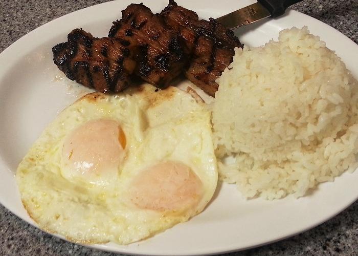 グリルドポークと卵 Pork Belly & Eggs