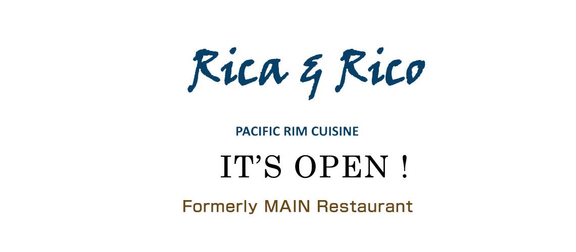 Rica & Rico ~Pacific Rim Cuisine~